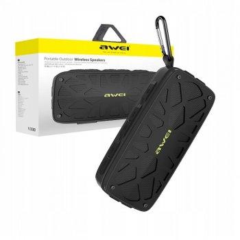 Портативна акустична система Awei Y330 Bluetooth 4.2 Black
