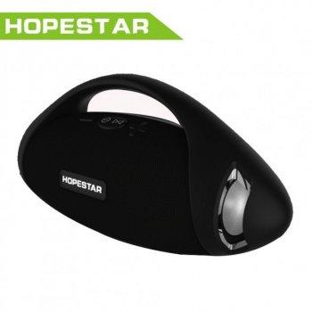 Беспроводная Портативная Влагозащищенная Колонка Bluetooth HOPESTAR H37 Черный (90031)