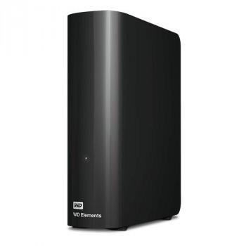 """Зовнішній жорсткий диск 3,5"""" 10TB WD Elements Desktop USB 3.0 Чорний (99998)"""