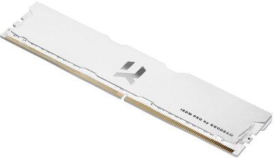 Оперативна пам'ять GoodRam DDR4 8GB 4000MHz IRDM PRO Hollow White (IRP-W4000D4V64L18S/8G) (6687844)