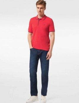 Поло Pierre Cardin з колекції Air Touch у червоному кольорі (52114/5080/1225)