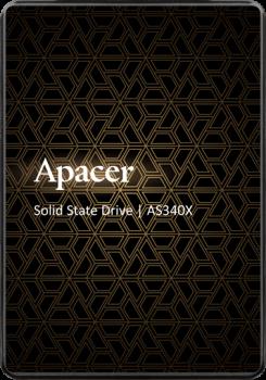 SSD внутренние APACER AS340X 480GB SATAIII 3D NAND (AP480GAS340XC-1)