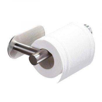 Тримач для туалетного паперу з нержавіючої сталі настінний MVM BSS-1