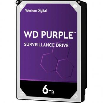 Жорсткий диск WD Purple 6 TB 5640 rpm , 128 Mb - (WD62PURZ)