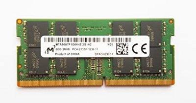 Оперативна пам'ять MICRON 8 GB SO-DIMM DDR4 2133 MHz - (MTA16ATF1G64HZ-2G1A2)