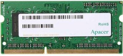 Модуль памяти SO-DIMM 8GB/1600 1.5V DDR3 Apacer (DS.08G2K.KAM)