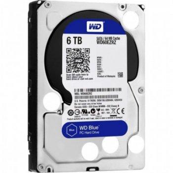 """Жесткий диск 3.5"""" 6TB WD (WD60EZRZ)"""