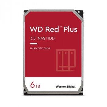 "Жесткий диск WD 3.5"" SATA 3.0 6TB 5400 128MB Red Plus NAS (WD60EFZX)"