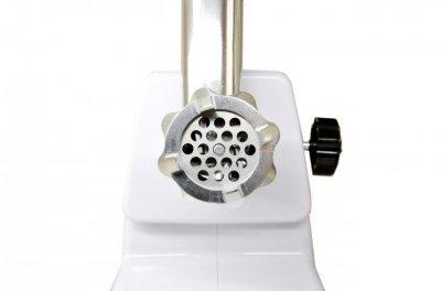 Мясорубка электрическая соковыжималка комбайн Rainber RG 671 с реверсом Для колбасных изделий, Кеббе 2200Вт Белая + кухонные весы