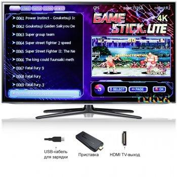 Беспроводная игровая приставка HDMI   3535 игр Dendy, Sega, Аркадные игры, Game Boy, Nintendo, Atari, PlayStation 1