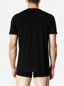Футболка Pompea T-shirt U Girocolo cotton Чорна