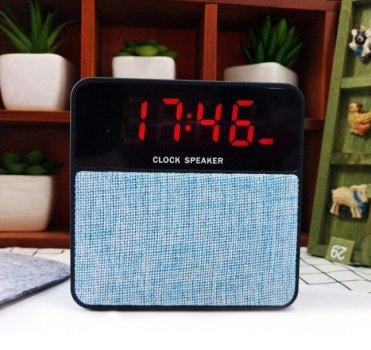 Колонка T1+Display Bluetooth 4.1 Black-Blue
