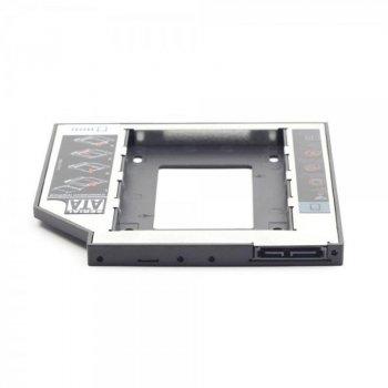"Адаптер HDD 2,5"" для ноутбука в отсек CD-ROM Gembird MF-95-02 (12.5 мм)"