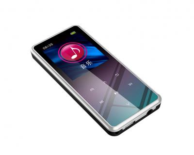 MP3 плеер JNN M12 Original Bluetooth Hi-Fi 32Gb Серебристый