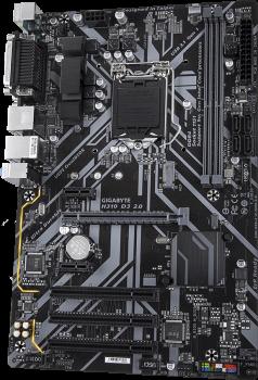 Материнська плата Gigabyte H310 D3 2.0 (s1151, Intel H310, PCI-Ex16)