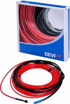 Тепла підлога DEVI двожильний кабель DTIP-18 6.5 м2 (140F1243)