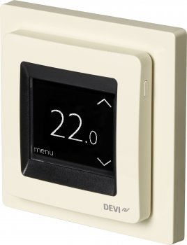 Терморегулятор DEVI DEVIreg Touch Ivory (140F1078)