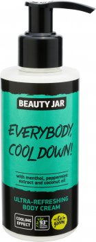 Ультра освежающий крем для тела Beauty Jar Everybody, Cool Down! 150 мл (4751030831367)