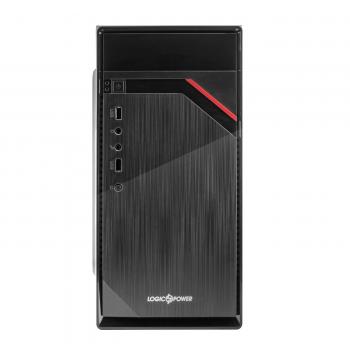 Корпус Logicpower 6105 без БЖ, 2xUSB2.0, Black