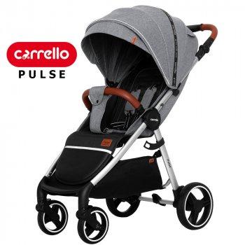 Детская прогулочная коляска CARRELLO Pulse CRL-5507 Cool Grey Серый (CRL-5507 Cool Grey)
