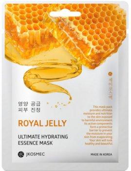 Ежедневная увлажняющая маска с экстрактом прополиса Jkosmec Royal Jelly Ultimate Hydrating Essence Mask 28 мл (8809540516819)