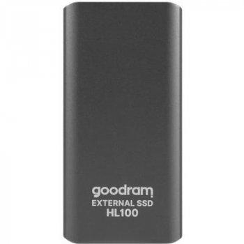 Накопитель SSD USB 3.2 256GB HL100 GOODRAM (SSDPR-HL100-256)