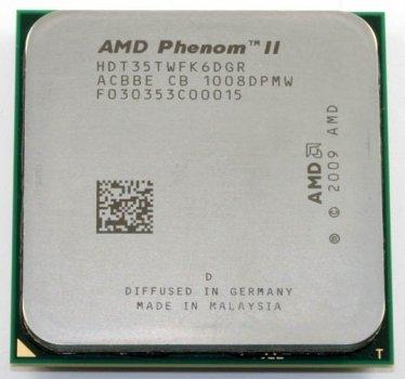 Процессор AMD Phenom II X6 1035T 2.6-3.1 GHz (HDT35TWFK6DGR) AM3 Б/У