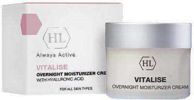 Ночной увлажняющий крем Holy Land Vitalise Overnight Moisturizer Cream 50 мл (7290101329558)