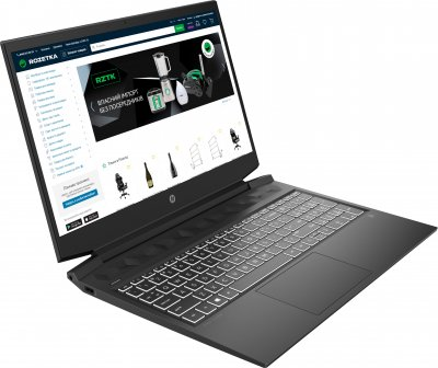 Ноутбук HP Pavilion Gaming 16-a0013ua (423Q7EA) Dark Grey