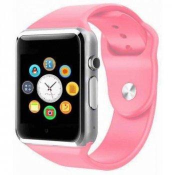 Розумний смарт годинник Smart Watch A1 Sim card, голосовbй вbrkbr, pink