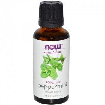 Эфирное масло мяты перечной Нау Фудс Now Foods Essential Peppermint Oil 30 мл