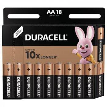 Батарейка Duracell AA MN1500 LR06 * 18 (5000394107519 / 5006192)