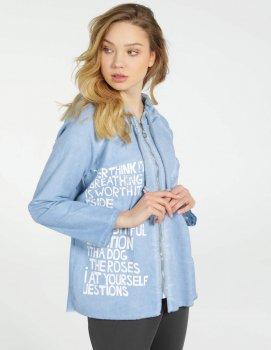 Джинсовая куртка Unisono 223-1544-1 Синяя (1061100)