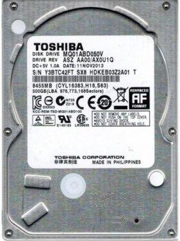 Жесткий диск Toshiba MQ01ABD050V 500Gb Sata II Refurbished