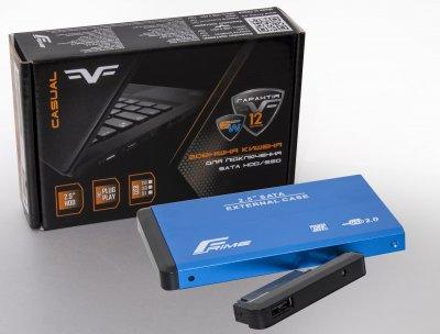 "Внешний карман Frime SATA HDD/SSD 2.5"""