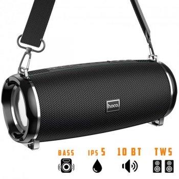 Портативная беспроводная Bluetooth колонка Hoco HC2 10Вт Black с влагозащитой IPX5 (HC2)