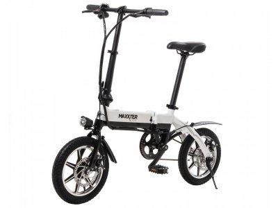 Электровелосипед Maxxter Mini 14'' Black-White