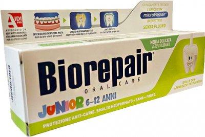 Детская зубная паста Biorepair Junior 75 мл (8017331064504/8017331054093)