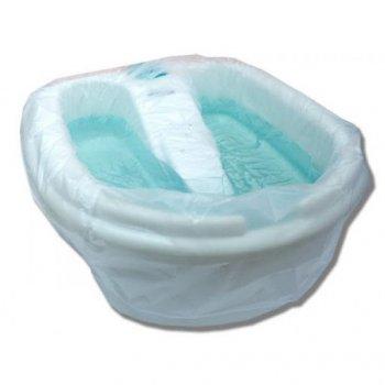 Чохол на ванночку для педикюру з гумкою одноразовий Timpa (50шт) 80х100см арт.2994