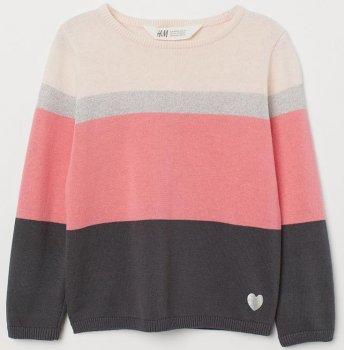 Джемпер H&M hmk03200012 Світло-рожевий