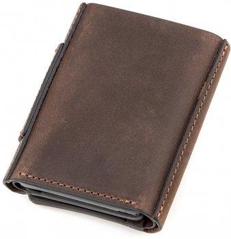 Кошелек кожаный Grande Pelle 11151 Коричневый