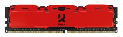 Модуль памяти GOODRAM DDR4 8Gb 3200MHz IRDM X RED (IR-XR3200D464L16SA/8G) (F00246772)