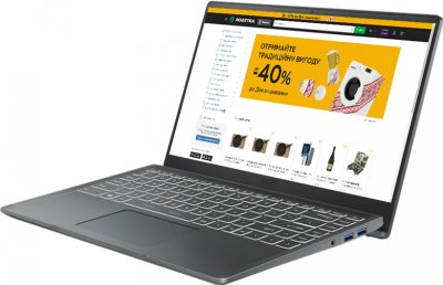 Ноутбук MSI Modern 14 B11SBL-476XUA Grey