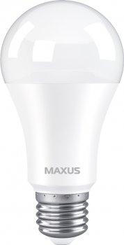 Лампа світлодіодна MAXUS A60 12 Вт 4100 K 220 В E27 (1-LED-778)