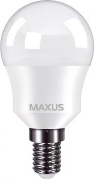 Лампа світлодіодна MAXUS G45 8 Вт 4100 K 220 В E14 (1-LED-750)