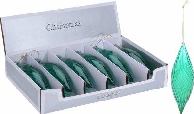 Набір ялинкових іграшок Christmas Decoration 6 шт. (ACT403730)