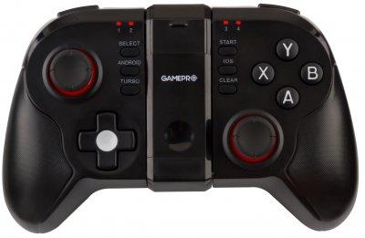 Беспроводной геймпад GamePro Bluetooth Android/iOS Black (MG680)