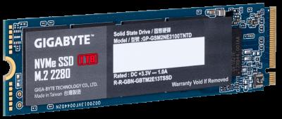 Gigabyte NVMe SSD 1TB M.2 2280 (GP-GSM2NE3100TNTD)