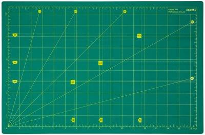 Килимок самовідновний для різання Axent Pro сантиметрова та дюймова шкала А3 (7906-A)