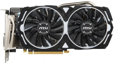 Відеокарта AMD Radeon RX 570 8GB GDDR5 Armor OC MSI (Radeon RX 570 ARMOR 8G OC)